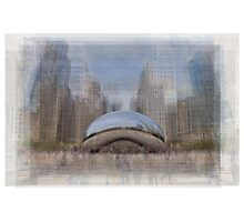 Gloud Gate, Chicago Bean Photographic Print