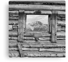 Picture Window 2 Canvas Print