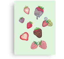 Strawberry Bundle Canvas Print