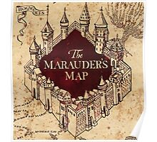 Marauders Map Poster