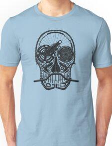 Bike Parts Skull. Unisex T-Shirt