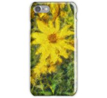 Silphium Perfoliatum iPhone Case/Skin
