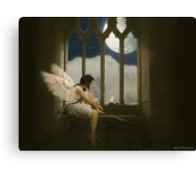 I know I could fly Canvas Print