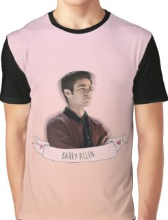 BARRY ALLEN Graphic T-Shirt