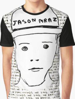 Jason Mraz Album Cover Sticker Graphic T-Shirt