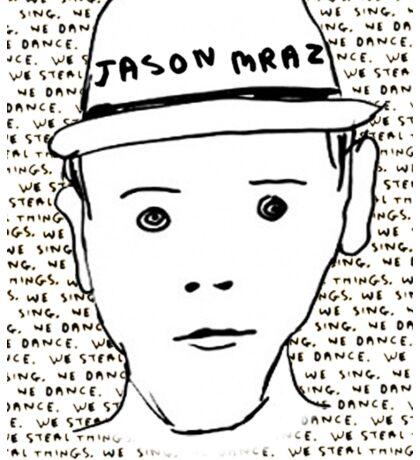 Jason Mraz Album Cover Sticker Sticker