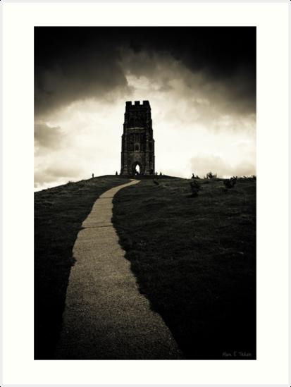 Dark Tor - Gothic Glastonbury by Mark Tisdale