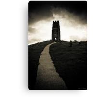 Dark Tor - Gothic Glastonbury Canvas Print