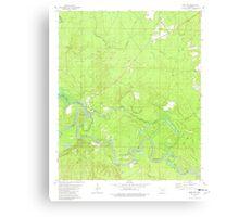 USGS TOPO Map Arkansas AR Moro Bay 259129 1981 24000 Canvas Print