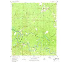 USGS TOPO Map Arkansas AR Moro Bay 259129 1981 24000 Photographic Print