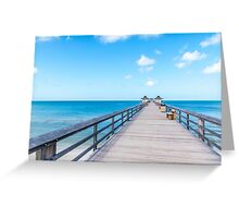 Serenity Boardwalk Greeting Card