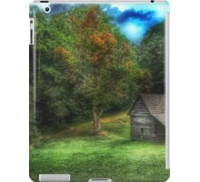 Cabin on the Parkway iPad Case/Skin