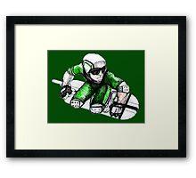 Skycutter Framed Print
