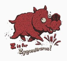 Z is for Zygomaturus! - megafauna t-shirt Kids Clothes
