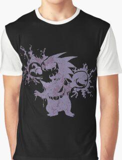 Gastly Evolution - Grunge Edition Graphic T-Shirt