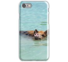 Swimming Pigs of Exuma Cays; Pt.5 iPhone Case/Skin