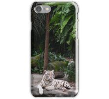 White Tiger Jungle Cat iPhone Case/Skin