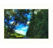 Blue Ridge Parkway No. 1 Art Print