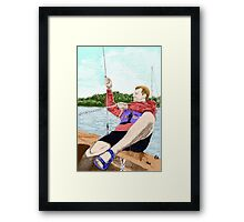 Onward Toward Freedom- Colour Framed Print