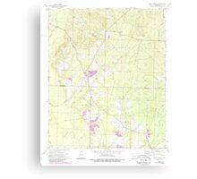 USGS TOPO Map Arkansas AR Holly Springs 258744 1973 24000 Canvas Print