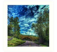 Blue Ridge Parkway No. 2 Art Print