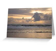 Heavens Rejoice - Ocean Photography Greeting Card