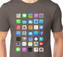 Apple Icons Unisex T-Shirt