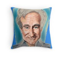 The Last Tribute for Robin Williams Throw Pillow