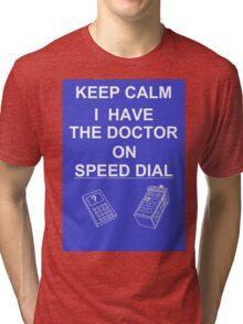 KEEP CALM    mk MCMLXIII Tri-blend T-Shirt