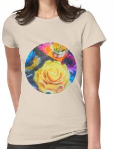 Wax Candle Flowers Thailand Womens Fitted T-Shirt