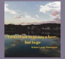 Travel Motivation:  Booth Bay Maine Kids Tee