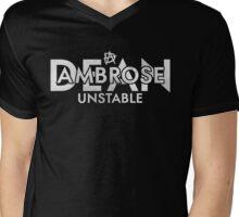 "Dean Ambrose ""Unstable"" Mens V-Neck T-Shirt"