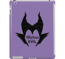 Mistress of All Evil iPad Case/Skin