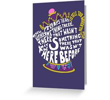 Mrs. Potts Greeting Card