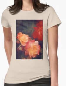 Rose 358 Womens Fitted T-Shirt