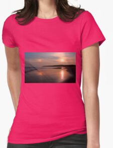 Sundog On The Strand Womens Fitted T-Shirt
