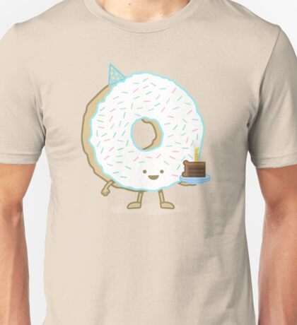 The Birthday Party Donut Unisex T-Shirt
