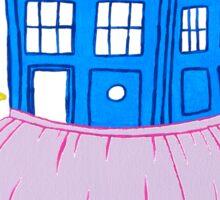 Ballet TARDIS Sticker