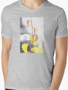 Summer Mens V-Neck T-Shirt
