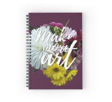 Make More Art Spiral Notebook
