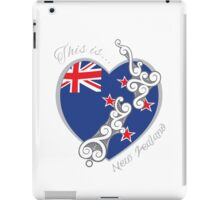This is New Zealand iPad Case/Skin