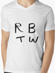 RBTW  Mens V-Neck T-Shirt