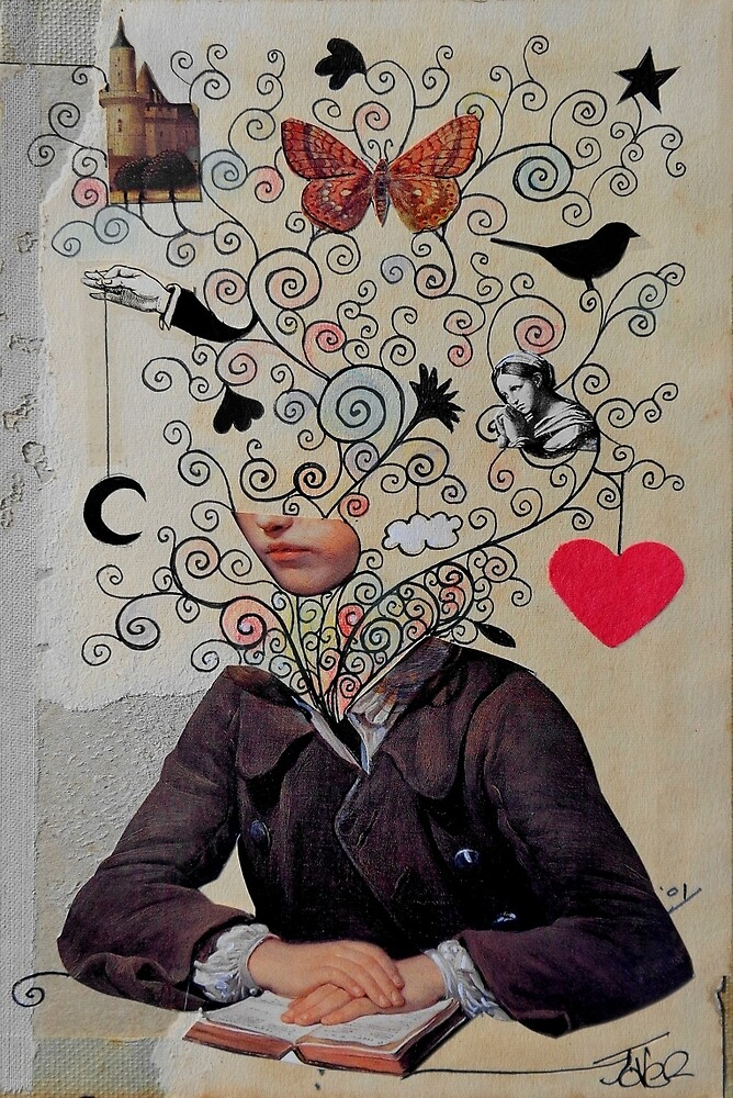 the little romantic by Loui  Jover