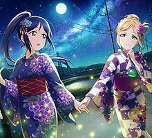 Love Live! Sunshine!! - Under the Moonlight by star-sighs