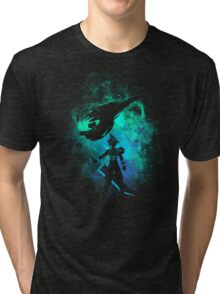 Ex soldier Art Tri-blend T-Shirt