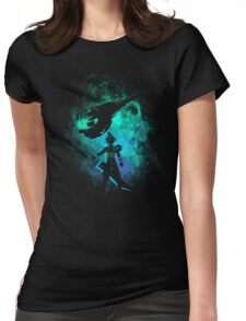 Ex soldier Art Womens Fitted T-Shirt