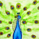 Peacock by Kari Sutyla