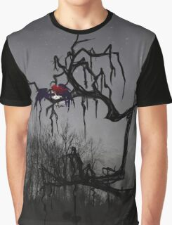 Winged Elf In a Tree Graphic T-Shirt