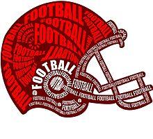 Football Helmet by papabuju