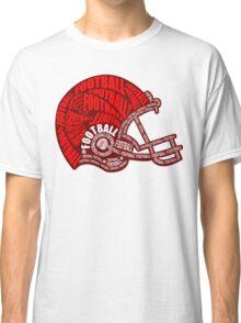 Football Helmet Classic T-Shirt
